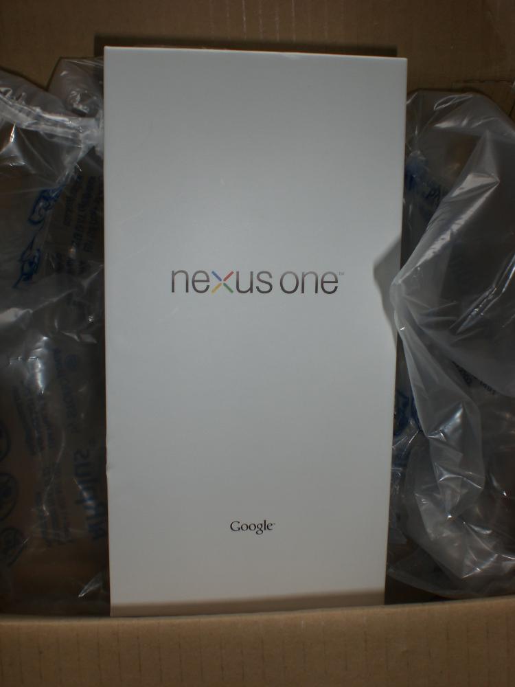 Nexus One box