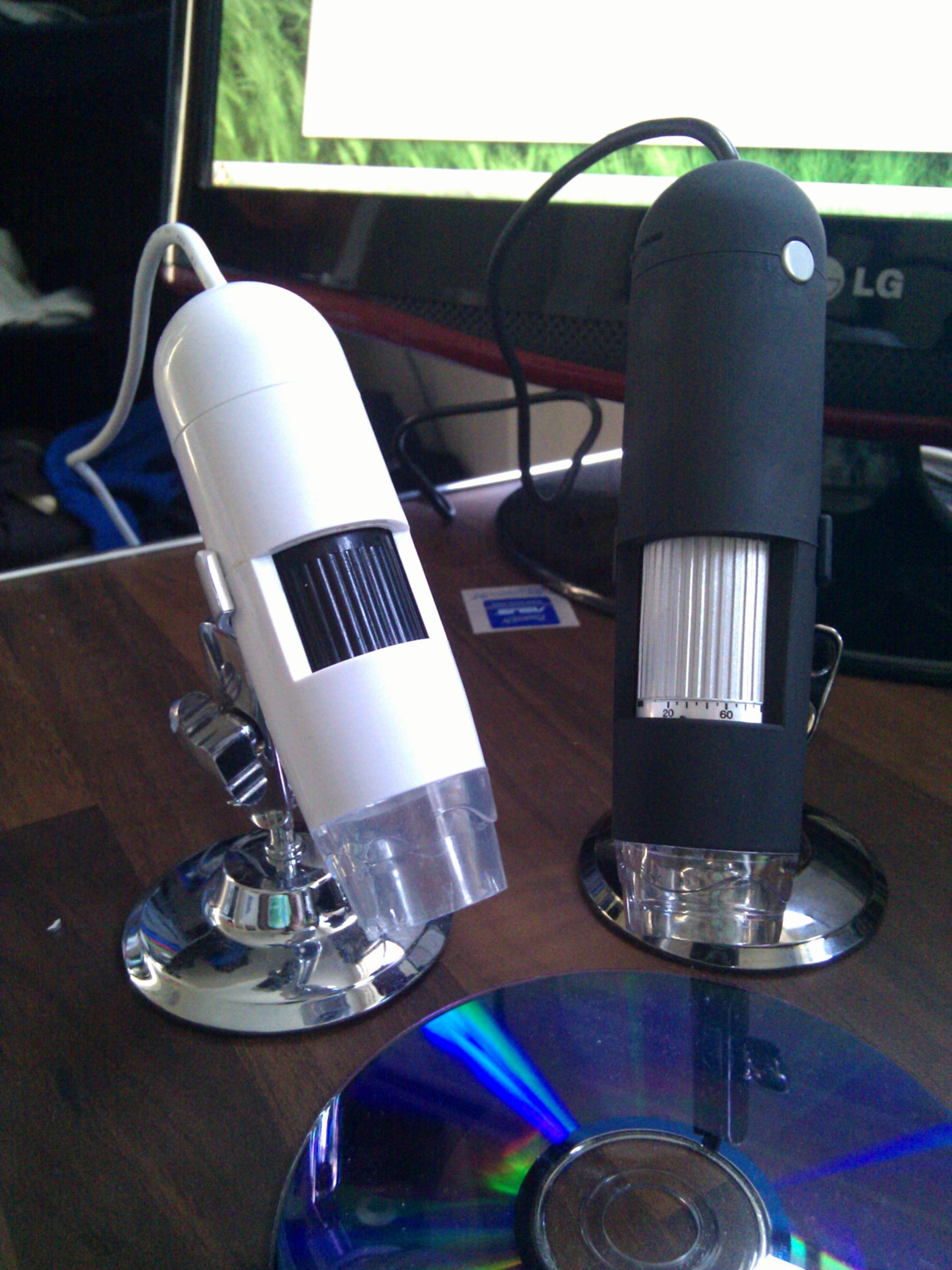 Digimicro vs New Microscope